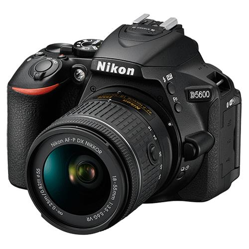 Nikon D5600 Digital SLR with 18-55mm f/3.5-5.6 AF-P VR Lens