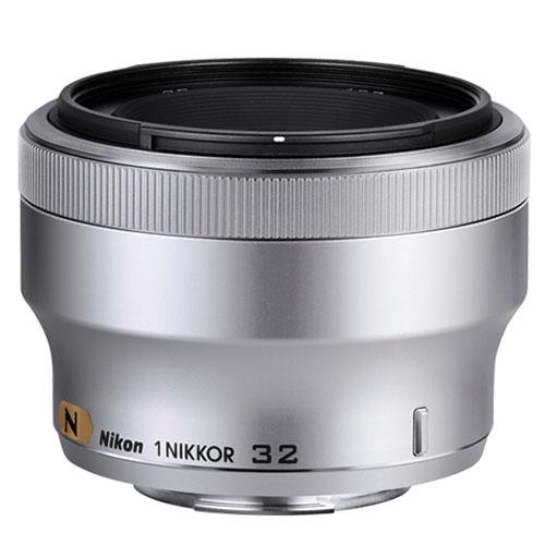 Nikon 1 32mm f/1.2 Portrait Lens in Silver
