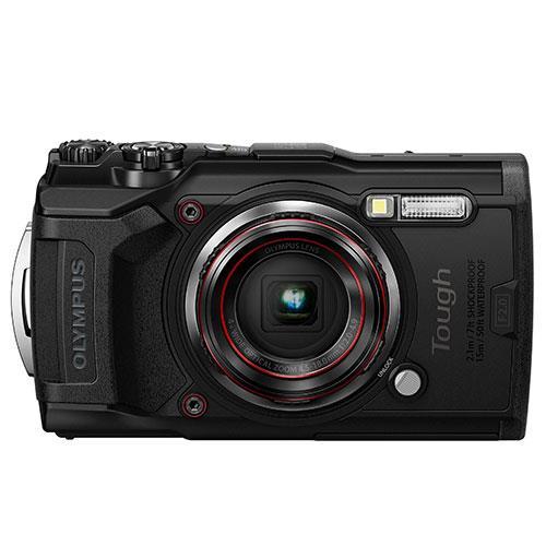 Olympus Tough TG-6 Digital Camera in Black