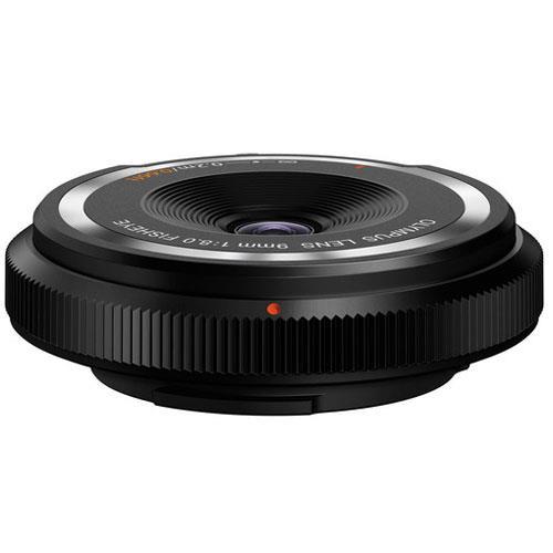 Olympus 9mm f/8.0 Body Cap Lens in Black