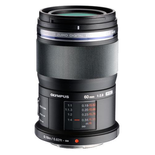 Olympus M.ZUIKO 60mm f/2.8 Macro Lens in Black