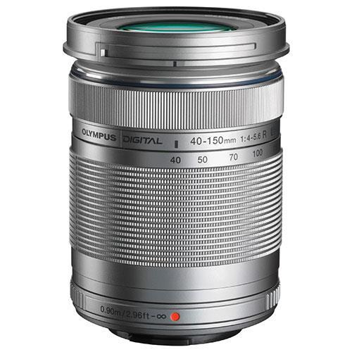 Olympus M.Zuiko Digital ED 40-150mm f/4.0-5.6 R Lens in Silver