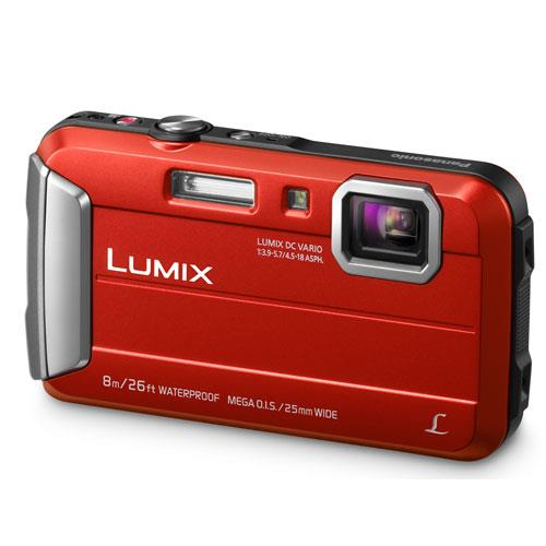 Panasonic Lumix DMC-FT30 Camera in Red