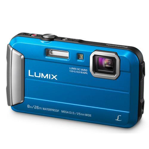 Panasonic Lumix DMC-FT30 Camera in Blue