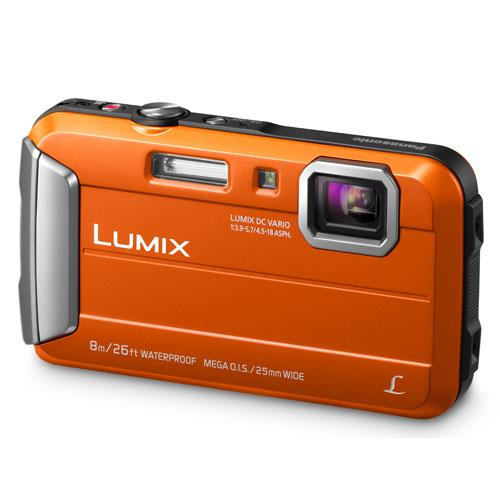 Panasonic Lumix DMC-FT30 Camera in Orange