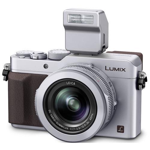 Panasonic Lumix DMC-LX100 Digital Camera in Silver