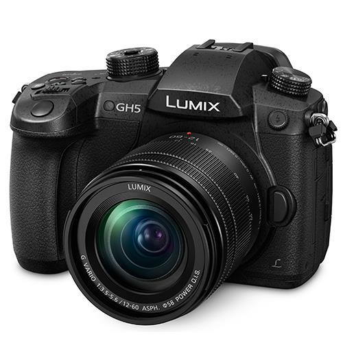 Panasonic Lumix DC-GH5 Mirrorless Camera with Lumix 12-60mm f/3.5-5.6 Lens