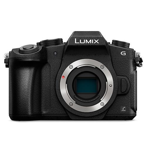 Panasonic Lumix DMC-G80 Mirrorless Camera Body in Black