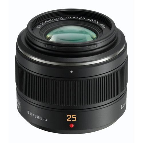 Panasonic 25mm f/1.4 Standard Lens