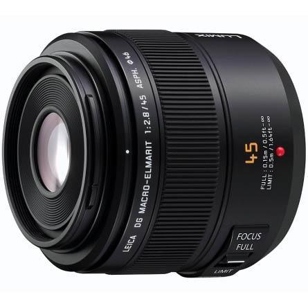 Panasonic Leica 45mm f/2.8 DG ASPH Macro-Elmarit Lens