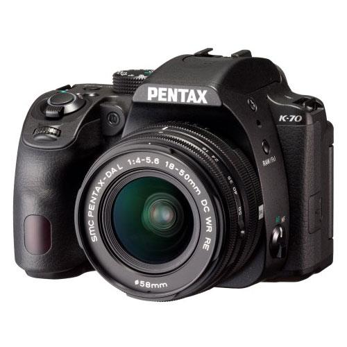 Pentax K-70 Digital SLR with 18-50mm Lens