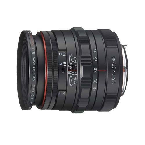 Pentax HD DA 20-40mm F2.8-4 ED Limited DC WR Lens in Black