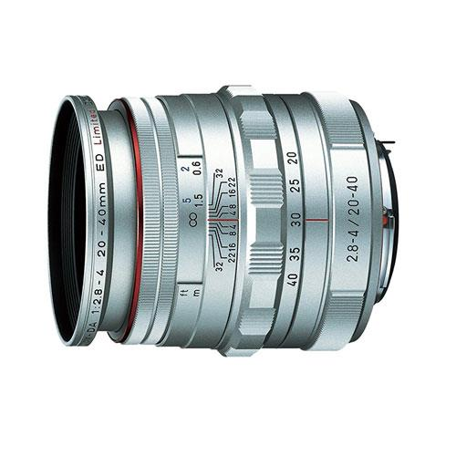 Pentax HD Pentax-DA 20-40mm F2.8-4 ED Limited DC WR Lens in Silver