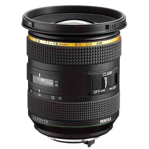 Pentax DA 11-18mm f/2.8 ED DC AW Lens