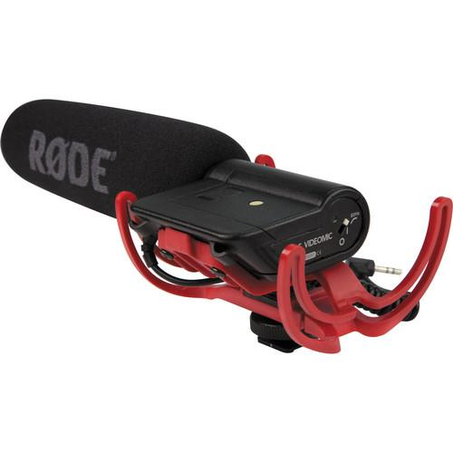 Rode VideoMic with Rycote Lyre Suspension System Microphone