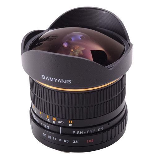 Samyang 8mm f/3.5 UMC Fisheye CS II Lens (Nikon F)