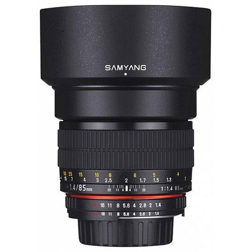 Samyang 85mm f/1.4 AS IF UMC Lens for Canon EF