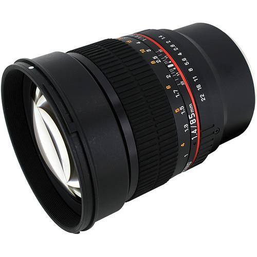 Samyang 85mm F1.4 Aspherical IF Lens - Sony fit