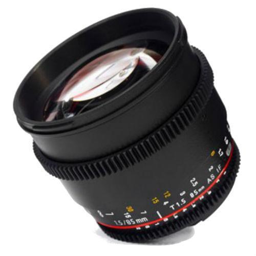 Samyang 85mm T1.5 AS IF UMC VDSLR II Lens for Canon