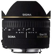 Sigma 15mm F2.8 EX DG Diagonal fisheye lens (Sony A Mount)