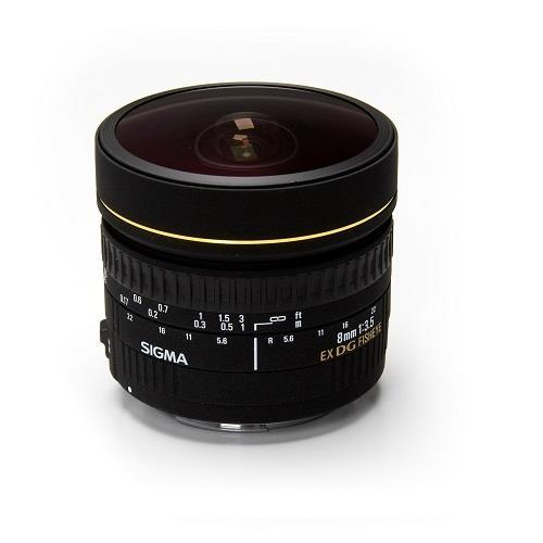 Sigma 8mm f/3.5EX DG Circular fisheye Lens (Sigma Fit)