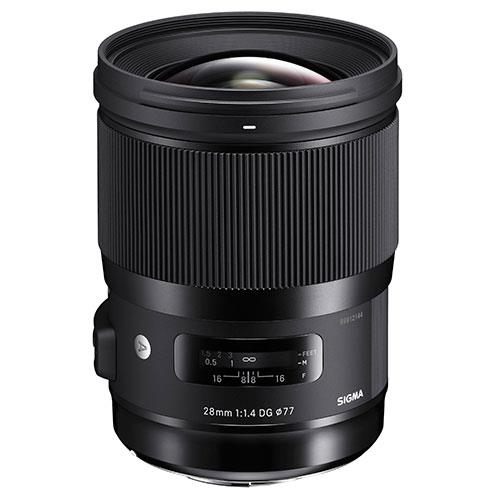 Sigma 28mm f/1.4 DG HSM Art Lens for Sony