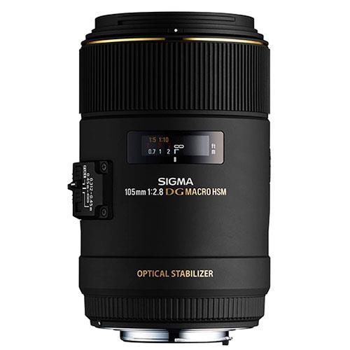 Sigma 105mm f/2.8 EX DG OS HSM Macro (Nikon AF)