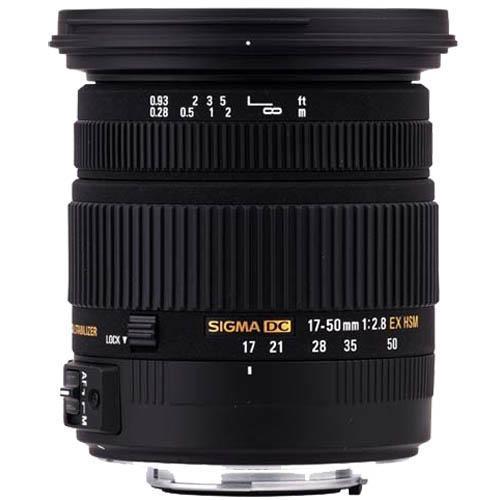 Sigma 17-50mm f2.8 EX DC OS Lens - Sony AF