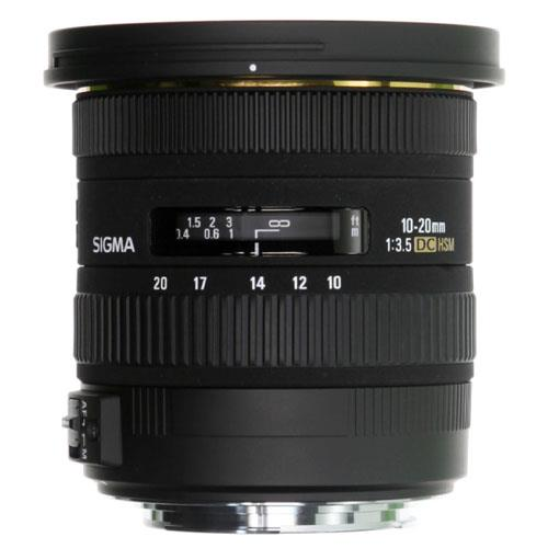 Sigma 10-20mm f3.5 EX DC HSM Lens - Canon EF-S