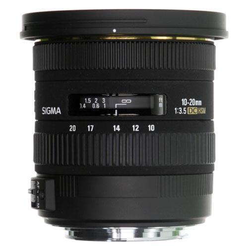 Sigma 10-20mm f3.5 EX DC HSM Lens - Sony AF