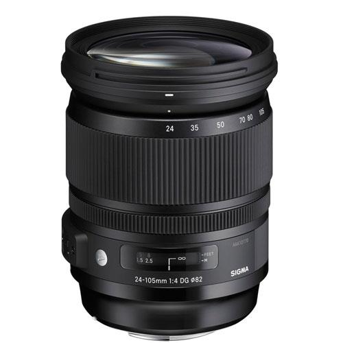 Sigma 24-105mm f/4 DG OS HSM A Lens (Nikon)