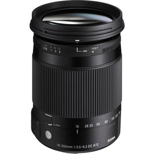 Sigma 18-300mm f/3.5-6.3 DC Macro OS HSM C Lens for Canon