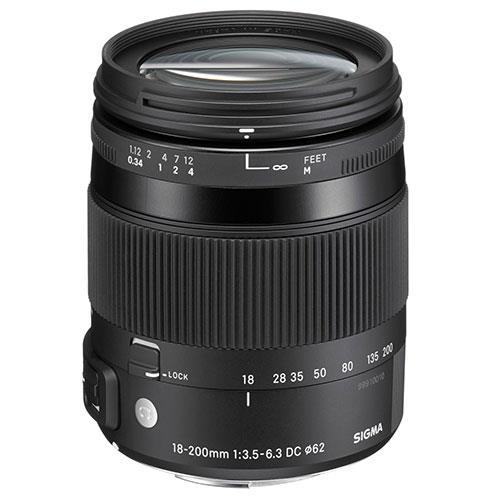 Sigma 18-200mm f/3.5-6.3 DC Macro OS HSM Lens - Nikon Fit