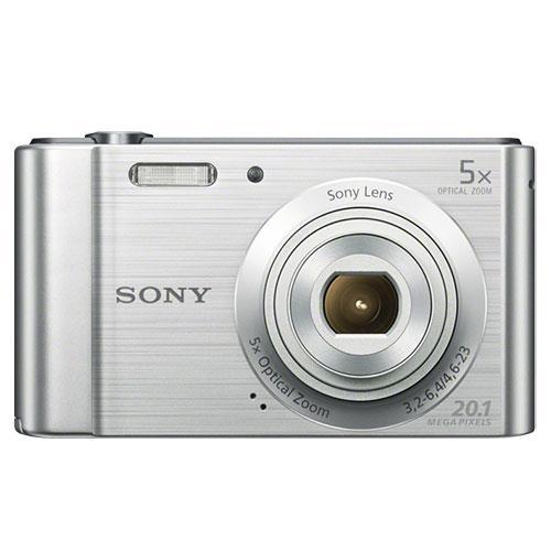 Sony Cyber-shot DSC-W800 Digital Camera in Silver