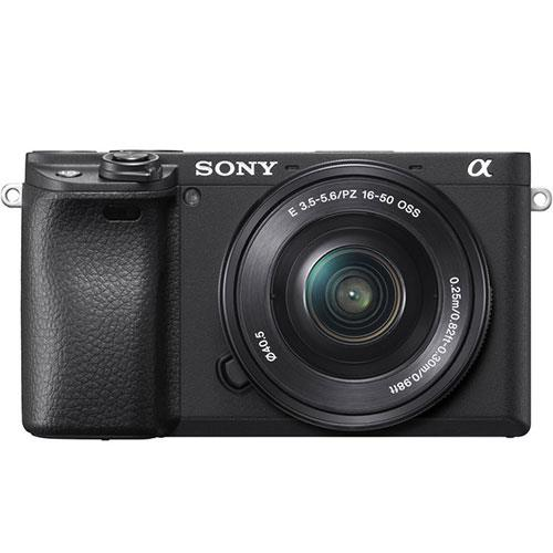 Sony a6400 Mirrorless Camera in Black with 16-50mm Lens