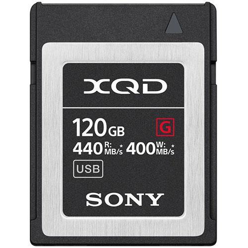 Sony XQD G Series 120GB Memory Card
