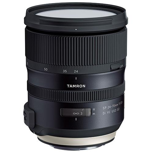 Tamron SP 24-70mm f/2.8 G2 VC USD Lens for Canon