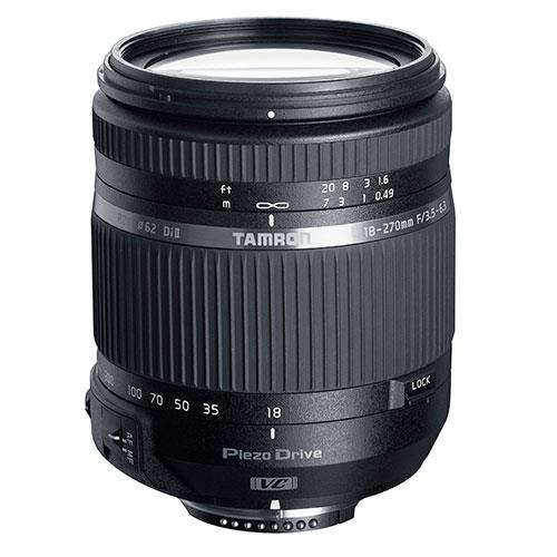 Tamron 18-270mm f/3.5-6.3 TS VC PZD Lens for Canon