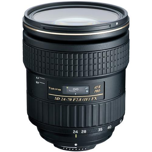 Tokina 24-70mm F2.8 Pro FX Lens - Canon fit