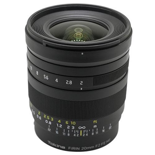 Tokina Firin 20mm f/2 FE MF Lens for Sony E-Mount