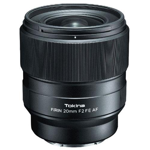 Tokina Firin 20mm F/2 FE AF lens for Sony E mount