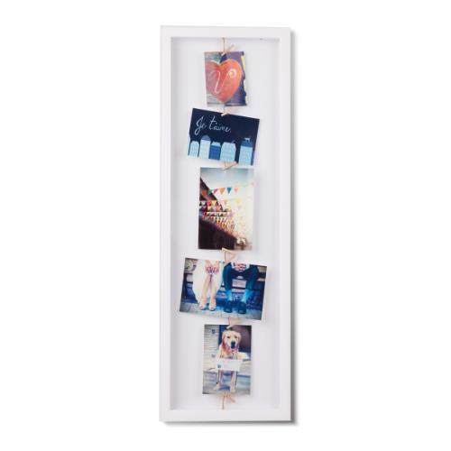 Umbra ClothesLine Flip Photo Display White