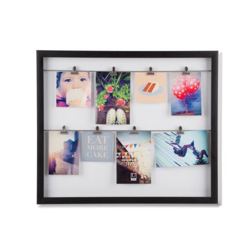 Umbra Clipline Photo Display Black Frame