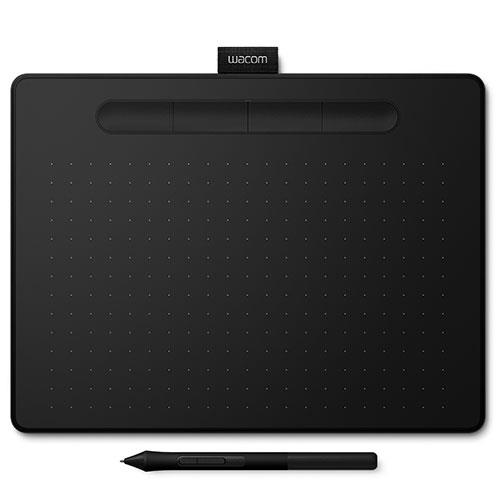 Wacom Intuos S Bluetooth Graphics Tablet in Black