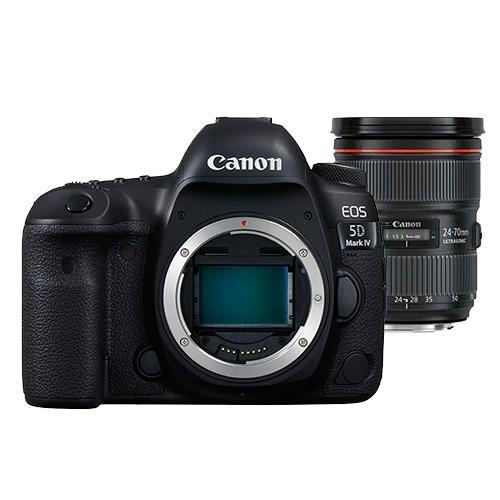 Canon EOS 5D Mark IV Digital SLR Body with EF 24-70mm f/2.8L II USM Lens