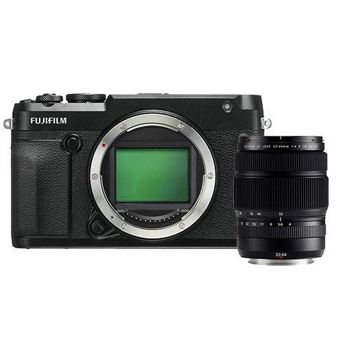 Fujifilm GFX 50R Mirrorless Medium Format Camera Body with GF32-64mm Lens