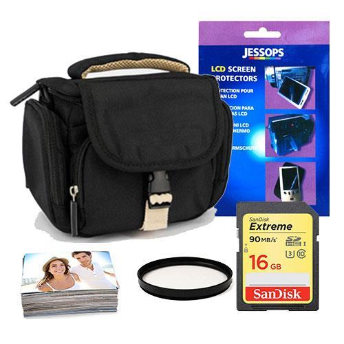 Jessops Mirrorless 16GB Shoulder Bag Bundle 40.5mm filter