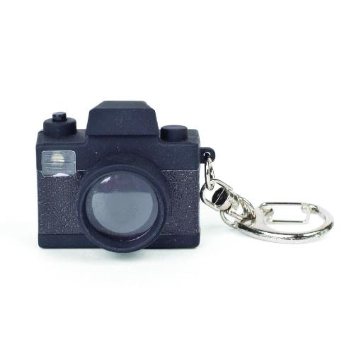 Kikkerland Camera LED Keychain
