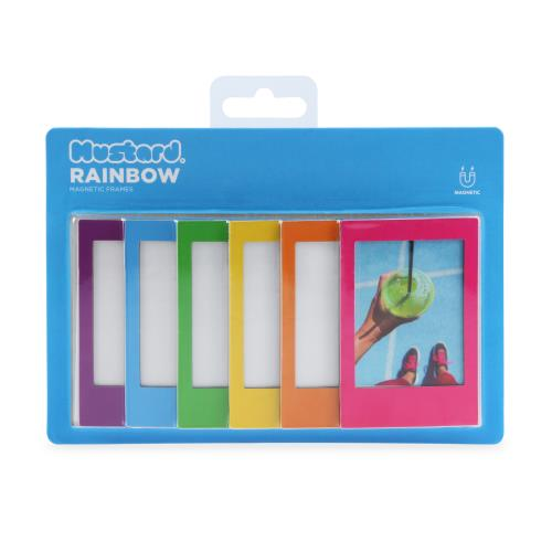 Mustard Rainbow Magnetic Frames