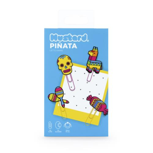 Mustard Pinata Picture Hangers